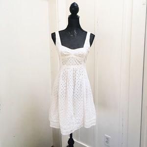 Eyelet Sun Dress